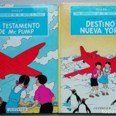 Comics : LAS AVENTURAS DE JO, ZETTE Y JOCKO. EL STRATONEF H. 22 (2 VOL). HERGÉ. EDITORIAL JUVENTUD, 1974.. Lote 229313630