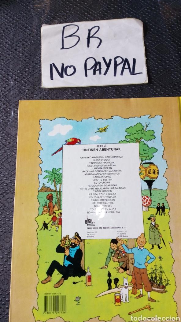 Cómics: Tintin euskera sidneyrako 714 hegaldia elkar ver fotos estado primera página rallas a rotu herge - Foto 4 - 229977800