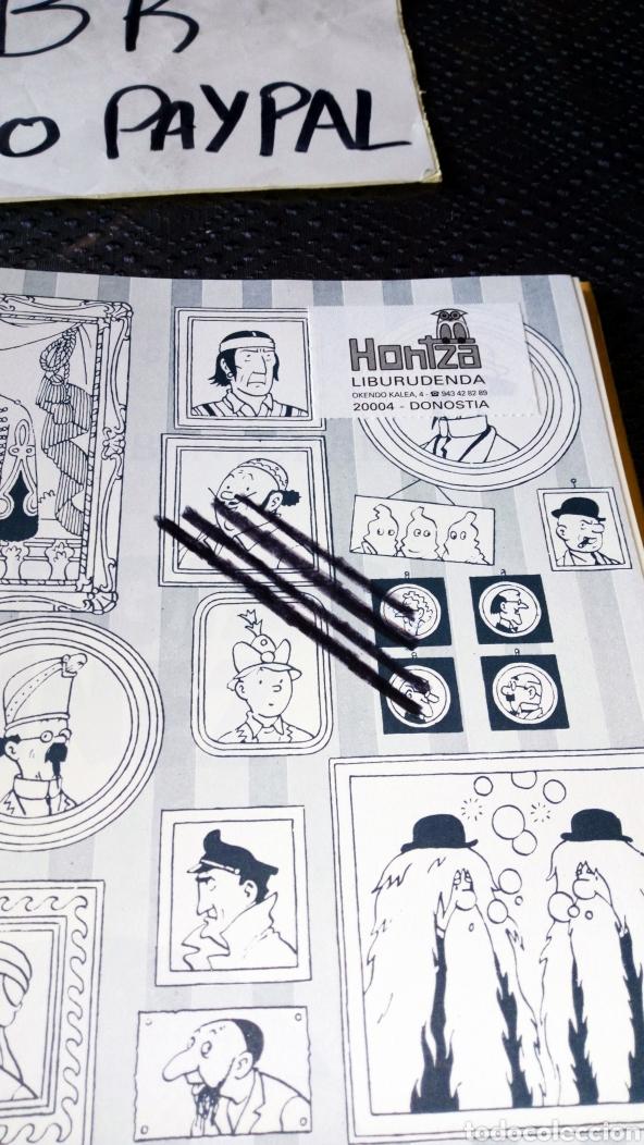Cómics: Tintin euskera ilargian oinez segunda edición ver fotos estado rallas rotu primera hoja herge elkar - Foto 2 - 229978275