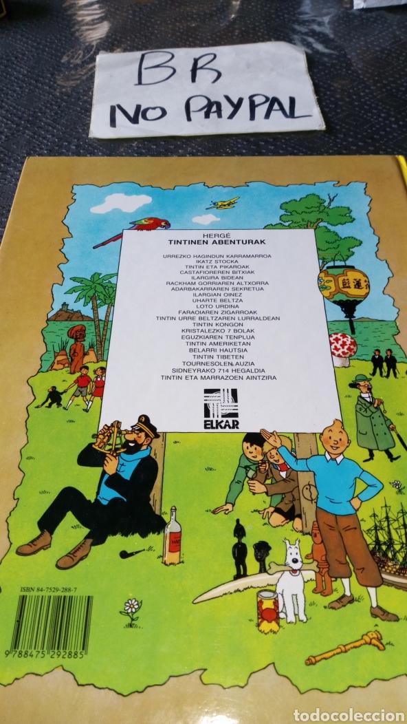 Cómics: Tintin euskera ilargian oinez segunda edición ver fotos estado rallas rotu primera hoja herge elkar - Foto 4 - 229978275