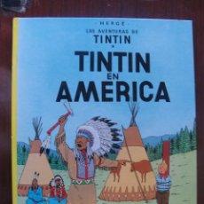 Cómics: TINTIN EN AMERICA / 7ª ED - 1982 / SIN USAR - STOCK DE LIBRERIA - IMPECABLE. Lote 230109125