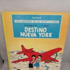 Comics : LAS AVENTURAS DE JO, ZETTE Y JOCKO. EL STRATONEF H. 22, SEGUNDO EPISODIO: DESTINO NUEVA YORK. Lote 231153855
