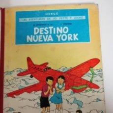 Cómics: LAS AVENTURAS DE JO, ZETTE Y JOCKO. EL STRATONEF H. 22, 2º EPISODIO: DESTINO NUEVA YORK. 1ª EDICIÓN. Lote 231690755