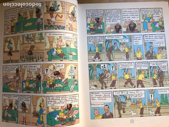 Cómics: Las aventuras de Tintin El loto azul - Foto 4 - 231824715