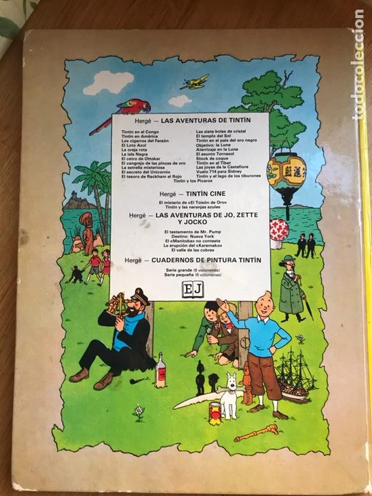 Cómics: Las aventuras de Tintin El loto azul - Foto 5 - 231824715