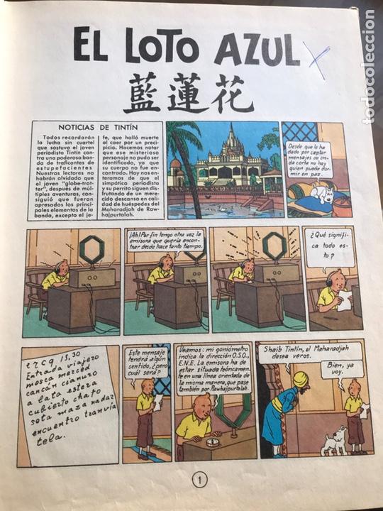 Cómics: Las aventuras de Tintin El loto azul - Foto 7 - 231824715