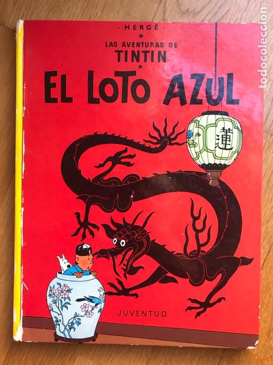 LAS AVENTURAS DE TINTIN EL LOTO AZUL (Tebeos y Comics - Juventud - Tintín)