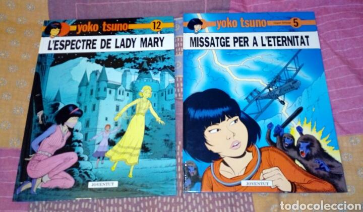 2 LIBROS YOKO TSUNO EN CATALÁN (Tebeos y Comics - Juventud - Yoko Tsuno)