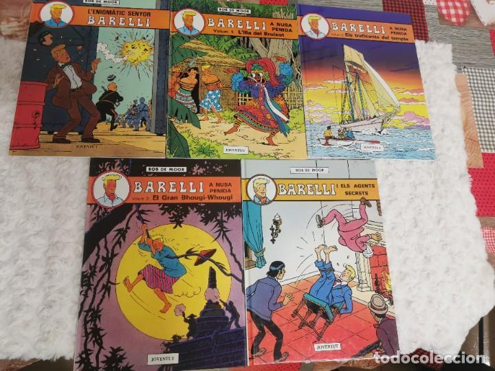 BARELLI - COL LECCIO COMPLETA DE 5 TITOLS - CATALA (Tebeos y Comics - Juventud - Barelli)