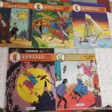 Cómics: BARELLI - COL LECCIO COMPLETA DE 5 TITOLS - CATALA. Lote 232026615