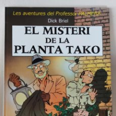 Cómics: LES AVENTURES DEL PROFESOR PALMERA - EL MISTERI DE LA PLANTA TAKO - ED. JOVENTUT 1990. Lote 232026765