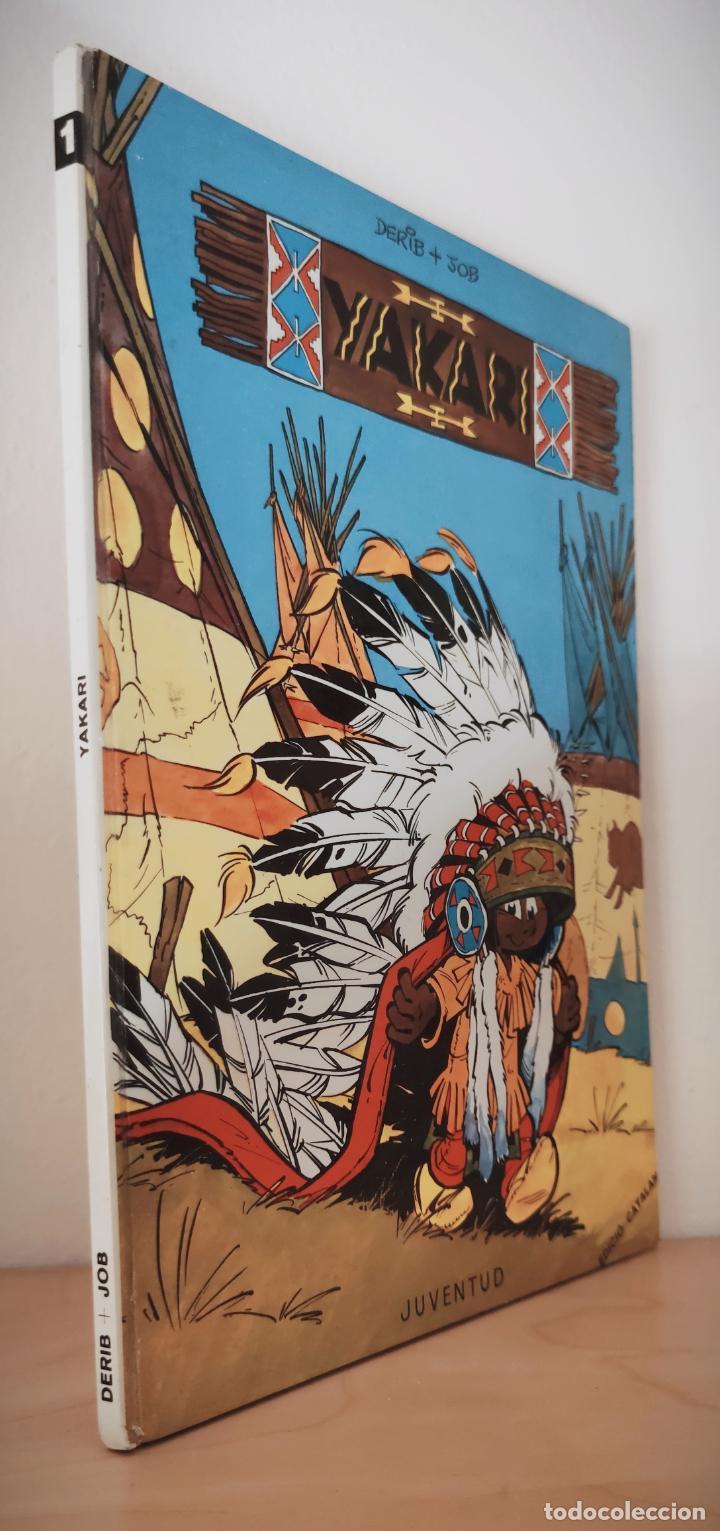 Cómics: YAKARI Nº 1 - TAPA DURA JOVENTUT - CATALAN 1979 - DERIB + JOB - Foto 2 - 232029285