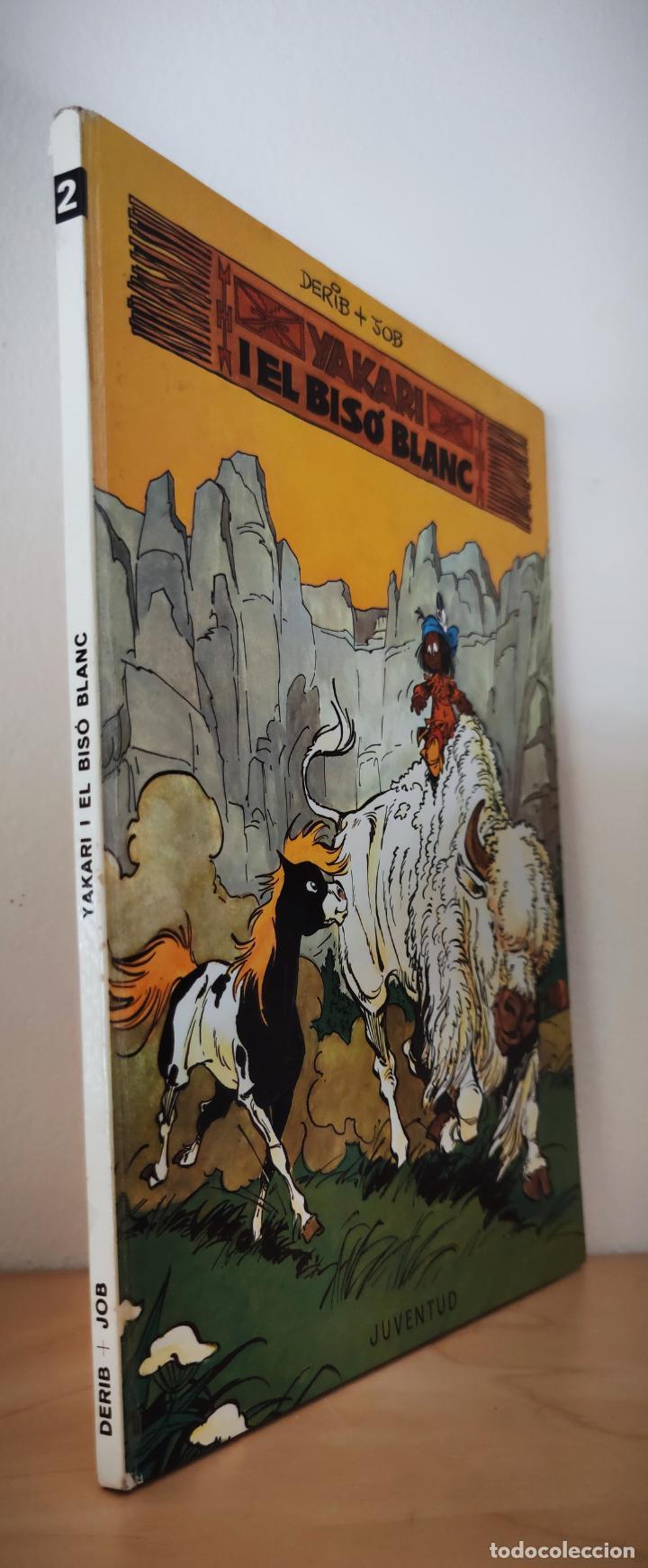 Cómics: YAKARI Nº 2 EL BISÓ BLANC - TAPA DURA JOVENTUT - CATALAN 1979 - DERIB + JOB - Foto 2 - 232030025