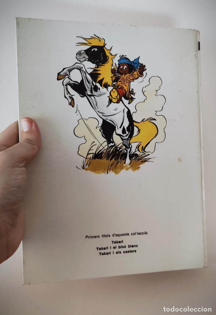 Cómics: YAKARI Nº 2 EL BISÓ BLANC - TAPA DURA JOVENTUT - CATALAN 1979 - DERIB + JOB - Foto 3 - 232030025