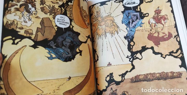 Cómics: YAKARI Nº 2 EL BISÓ BLANC - TAPA DURA JOVENTUT - CATALAN 1979 - DERIB + JOB - Foto 4 - 232030025