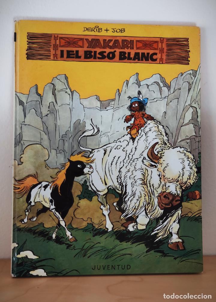 YAKARI Nº 2 EL BISÓ BLANC - TAPA DURA JOVENTUT - CATALAN 1979 - DERIB + JOB (Tebeos y Comics - Juventud - Otros)