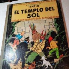 Comics : AVENTURAS DE TINTIN EL TEMPLO DEL SOL. Lote 232420235