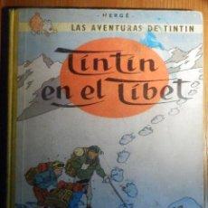 Cómics: LAS AVENTURAS DE TINTIN, EN EL TIBET - ED. JUVENTUD - 1ª EDICIÓN - MARZO 1962 - LOMO TELA. Lote 232546720