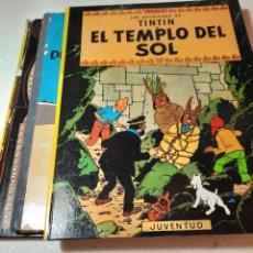 Cómics: AVENTURAS DE TINTIN ,LOTE 3 LIBROS.. Lote 232570915
