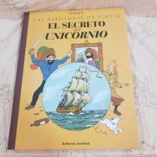 Comics : LIBRO TINTIN EL SECRETO DEL UNICORNIO GRAN FORMATO 42 X 33 EN CASTELLANO. Lote 232665970