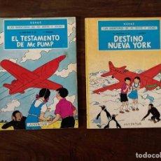 Cómics: LAS AVENTURAS DE JO, ZETTE Y JOCKO. Nº 1 Y 2 EDITORIAL JUVENTUD. RÚSTICA. Lote 233074590