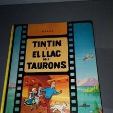 Cómics: AD4. COMIC TINTÍN I EL LLAC DELS TAURONS. Lote 233208065