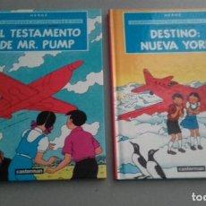 Comics : X LAS AVENTURAS DE JORGE, SARA Y PIPO (JO, ZETTE Y JOCKO) AVENTURA EN 2 ALBUMES (17X23). Lote 233512865