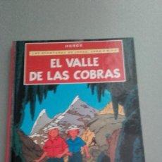 Comics : X LAS AVENTURAS DE JORGE, SARA Y PIPO (JO, ZETTE Y JOCKO): EL VALLE DE LAS COBRAS, DE HERGE (17X23). Lote 233513240