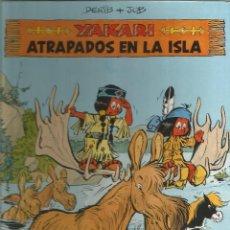 Cómics: YAKARI ATRAPADOS EN LA ISLA Nº 9 EDITORIAL JUVENTUD. Lote 233640490