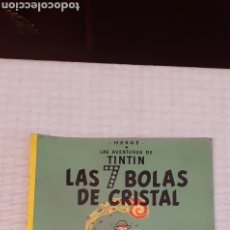 Cómics: TINTIN, TAPA BLANDA, 1984, EN ESPAÑOL. Lote 233848750