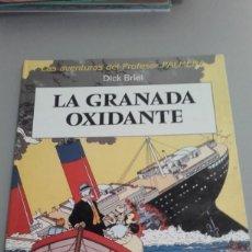 Cómics: X LAS AVENTURAS DEL PROF. PALMON. LA GRANADA OXIDANTE, DE DICK BRIEL (JUVENTUD). Lote 233866285