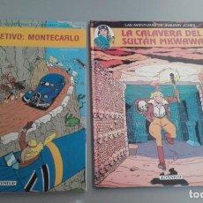 Cómics: X LAS AVENTURAS DE JANUARY JONES 1 Y 2, DE LODEWIJK Y HEUVEL (JUVENTUD). Lote 233867570