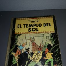 Cómics: AD4. COMIC. LAS AVENTURAS DE TINTIN. EL TEMPLO DEL SOL. 1961. Lote 234319090