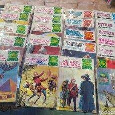Cómics: 22 JOYAS LITERARIAS JUVENILES PARA CHICAS Y PARA CHICOS COLORES VERDE ROJO Y. Lote 234459100