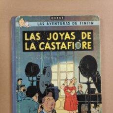 Cómics: LAS JOYAS DE LA CASTAFIORE - TINTIN (HERGÉ) PRIMERA EDICIÓN 1964. Lote 234554795