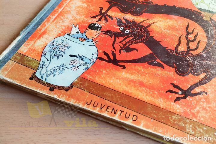 Cómics: El lotus blau - Les aventures de Tintin - 1965 - 1era Edició - En Català - Foto 3 - 234832235