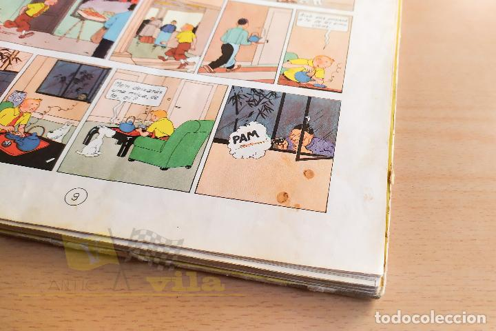 Cómics: El lotus blau - Les aventures de Tintin - 1965 - 1era Edició - En Català - Foto 9 - 234832235