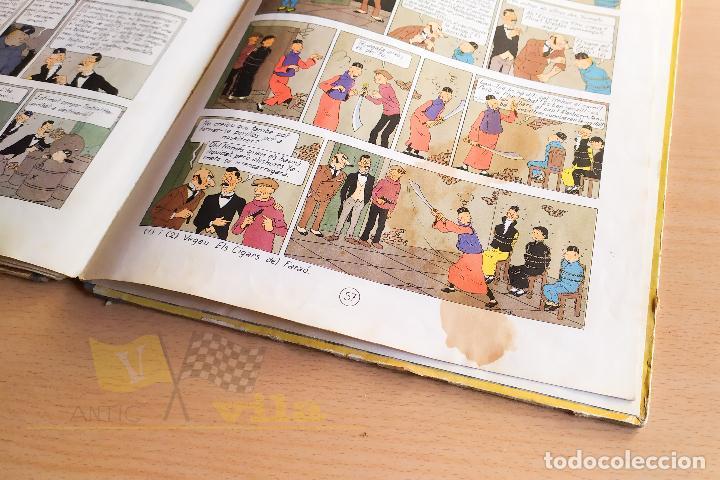 Cómics: El lotus blau - Les aventures de Tintin - 1965 - 1era Edició - En Català - Foto 13 - 234832235