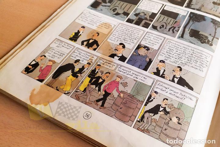 Cómics: El lotus blau - Les aventures de Tintin - 1965 - 1era Edició - En Català - Foto 14 - 234832235