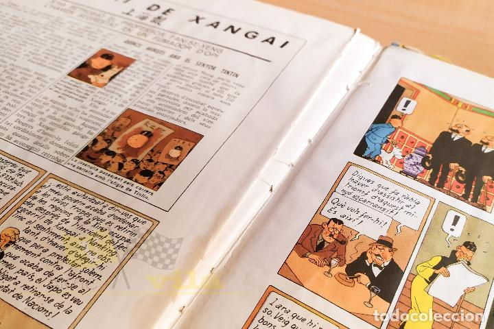 Cómics: El lotus blau - Les aventures de Tintin - 1965 - 1era Edició - En Català - Foto 15 - 234832235