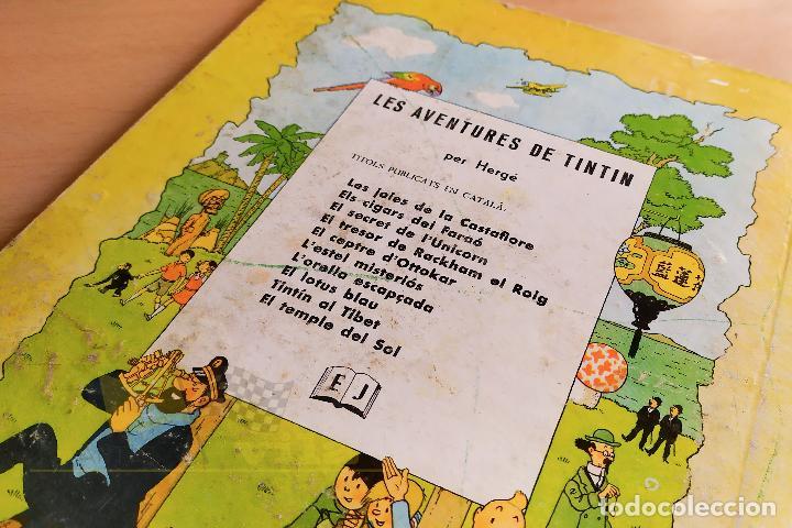 Cómics: El lotus blau - Les aventures de Tintin - 1965 - 1era Edició - En Català - Foto 21 - 234832235