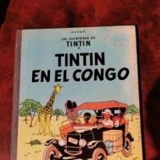 Cómics: TINTIN EN EL CONGO. JUVENTUD. PRIMERA EDICION, DICIEMBRE 1968. Lote 235016707