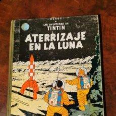 Cómics: TINTIN ATERRIZAJE EN LA LUNA LOMO DE TELA CUARTA EDICION 1967. Lote 235017054