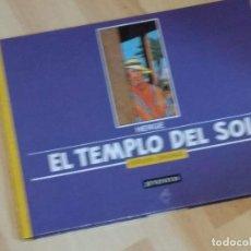 Fumetti: TINTIN - EL TEMPLO DEL SOL VERSIÓN ORIGINAL 1991 - FACSIMIL. Lote 235051380