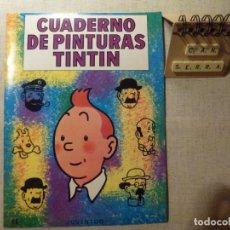 Cómics: CUADERNO DE PINTURAS TINTÍN HERGÉ G 6 1967. Lote 235353165
