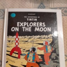 Cómics: TINTIN IDIOMAS- POP UP HOP LIBRO ANIMADO- ATERRIZAJE EN LA LUNA 2- EXPLORERS ON THE MOON - INGLES. Lote 235426215
