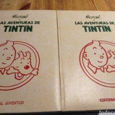 Fumetti: LAS AVENTURAS DE TINTÍN HERGÉ EDITORIAL JUVENTUD TOMO 3 Y TOMO 7. Lote 235584035
