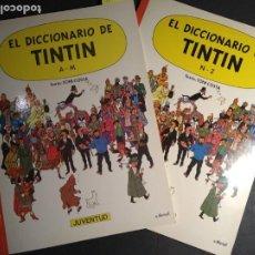 Cómics: EL DICCIONARIO DE TINTIN (DOS TOMOS). Lote 235688210