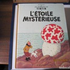 Cómics: TINTIN LA ESTRELLA MISTERIOSA EN FRANCES CASTERMAN 1974. Lote 235857405