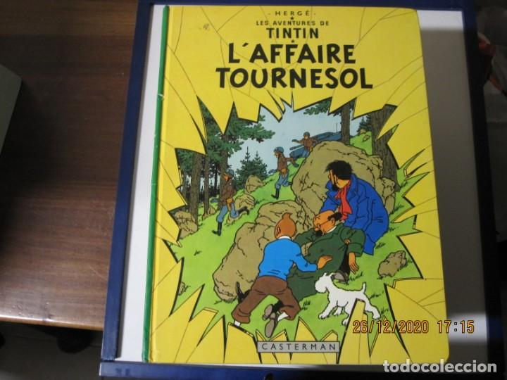 TINTIN EN EL ASUNTO TORNASOL EN FRANCES CASTERMAN 1956 (Tebeos y Comics - Juventud - Tintín)